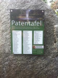Patentafel
